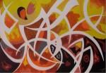Obras de arte: Europa : España : Catalunya_Tarragona : Reus : Los amantes
