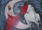 Obras de arte: Europa : España : Andalucía_Granada : La_Zubia : BAILANDO CON MI CABALLO