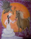 Obras de arte: Europa : España : Andalucía_Granada : La_Zubia : EL ENLACE (MI CABALLO LAZLOS)