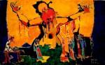 Obras de arte: America : Argentina : Buenos_Aires : Vicente_Lopez : ESPAÑA, DANZA Y GRITO