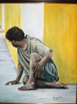 Obras de arte: America : Rep_Dominicana : Santiago : rep._imperial : mendigo del rep. imperial