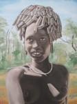 Obras de arte: America : Rep_Dominicana : Santiago : rep._imperial : nina de ethiopia