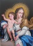 Obras de arte: America : Perú : Lima : Lima_cercado : Virgen con Niño