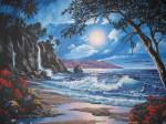 Obras de arte: America : Rep_Dominicana : Santiago : rep._imperial : a la luz de la luna