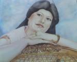 Obras de arte: America : México : Aguascalientes : Aguascalientes_ciudad : retrato mom Yanni
