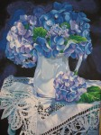Obras de arte: America : Rep_Dominicana : Santiago : rep._imperial : encajes y flores