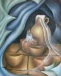 Obras de arte: America : México : Mexico_Distrito-Federal : Coyoacan : BODEGON CON VELA