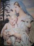 Obras de arte: America : México : Aguascalientes : Aguascalientes_ciudad : Virgen Maria