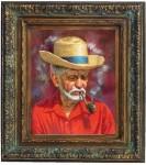 Obras de arte: America : Rep_Dominicana : Santiago : monumental : campesino del cibao