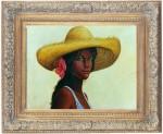 Obras de arte: America : Rep_Dominicana : Santiago : monumental : india canela