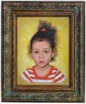 Obras de arte: America : Rep_Dominicana : Santiago : monumental : retrato de niña 4