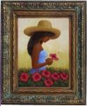 Obras de arte: America : Rep_Dominicana : Santiago : monumental : la india de las cayenas
