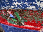 Obras de arte: Europa : España : Cantabria : Santander : barca con red