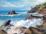Obras de arte: Europa : España : Madrid : Boadilla_del_Monte : ... del agitado mar de las orillas