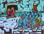 Don Quijote en México (Pintura Neobarroca)