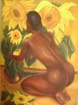 Obras de arte: America : México : Jalisco : autlan : GIRASOLES
