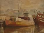 Obras de arte: America : Uruguay : Montevideo : Montevideo_ciudad : Puerto de pescadores