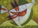 Obras de arte: Europa : Bielorrusia : Vitsyebsk : Artistas : Bird of Happiness. Abstract.