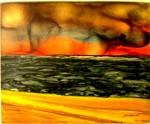 Obras de arte: Europa : España : Catalunya_Barcelona : sant_fost_de_campsentelles : Posta de sol nº48