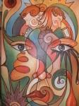 Obras de arte: Europa : España : Andalucía_Sevilla : Alcala_de_guadaira :  el espejo del alma