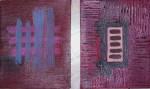 Obras de arte: America : Perú : Lima : Surco : Encrucijada - Díptico