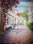 Obras de arte: America : Rep_Dominicana : Santiago : rep._imperial : PASEO DEL CONDE