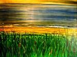 Obras de arte: Europa : España : Catalunya_Barcelona : sant_fost_de_campsentelles : Nuvolat a la platja nº52