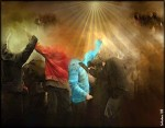 Obras de arte: America : Argentina : Buenos_Aires : lanus : La Protesta!!!