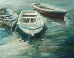 Obras de arte: Europa : España : Catalunya_Barcelona : gelida : Barcas de pescar