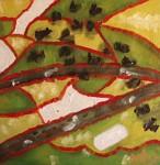 Obras de arte: Europa : España : Murcia : cartagena : subiendo los alpes