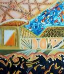 Obras de arte: Europa : España : Murcia : cartagena : atardecer en barcelona