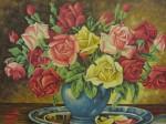 Obras de arte: America : Rep_Dominicana : Santiago : rep._imperial : rosas