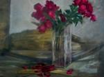 Obras de arte: Europa : España : Navarra : tudela : jarron con flores (1)
