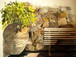 Obras de arte: Europa : España : Catalunya_Barcelona : sant_fost_de_campsentelles : Reco del pati nº81