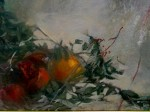 Obras de arte: Europa : España : Navarra : tudela :  rama con granadas