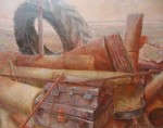 Obras de arte: Europa : España : Castilla_y_León_Salamanca : Salamanca : maletas