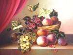 Obras de arte: Europa : Francia : Centre-Francia : www.artmajeur.com/pelvera : Still life with a fruit