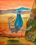 Obras de arte: America : Chile : Los_Lagos : puerto_montt : La Pincoya juega con sargazos en sus dedos