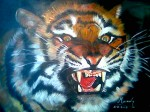 Obras de arte: America : Chile : Valparaiso : Valparaíso : el tigre