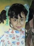 Obras de arte: America : Chile : Valparaiso : Valparaíso : la niña