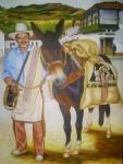Obras de arte: America : Colombia : Valle_del_Cauca : Cali : juan valdez  (cafe de colombia)