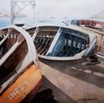 Obras de arte: America : Chile : Tarapaca : IQUIQUE : boteados
