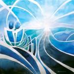 Obras de arte: America : Chile : Tarapaca : Arica : Amanecer en la ruta