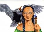 Obras de arte: America : México : Jalisco : zapopan : Mujer Medicina