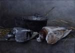 Obras de arte: Europa : España : Castilla_la_Mancha_Ciudad_Real : Ciudad_Real : Caldero con dos palomas