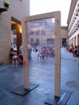 Obras de arte: Europa : España : Navarra : tudela : puerta paradoja